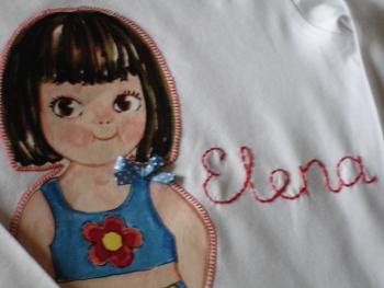 Detalle camiseta alicia