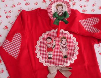 Camiseta roja parejita1