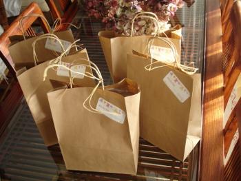 bolsas preparadas