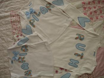 camisetas azules leo
