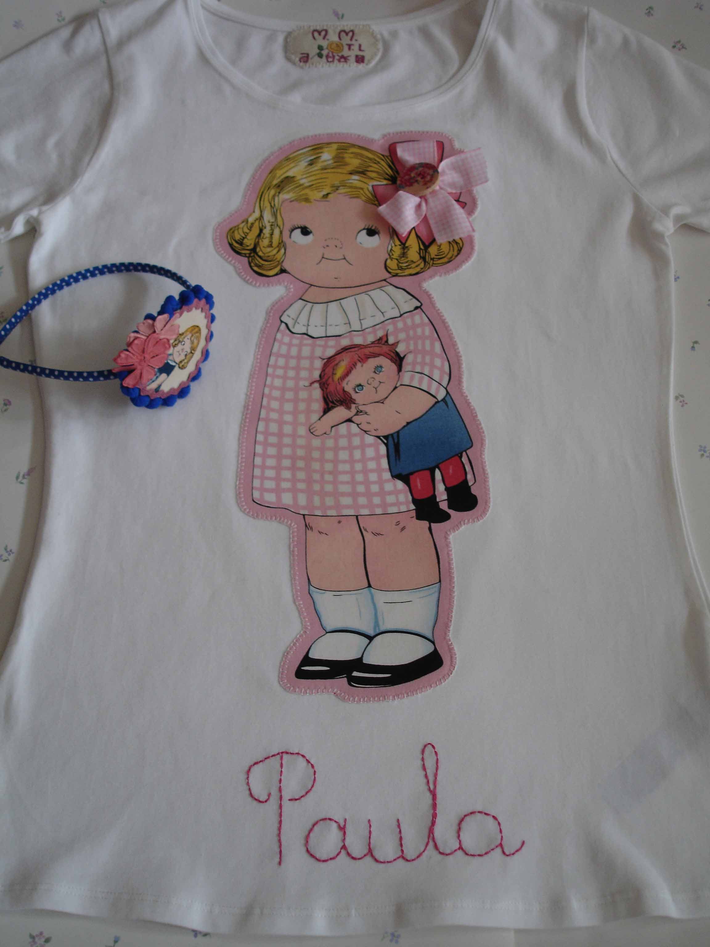 Camiseta niña Marisa
