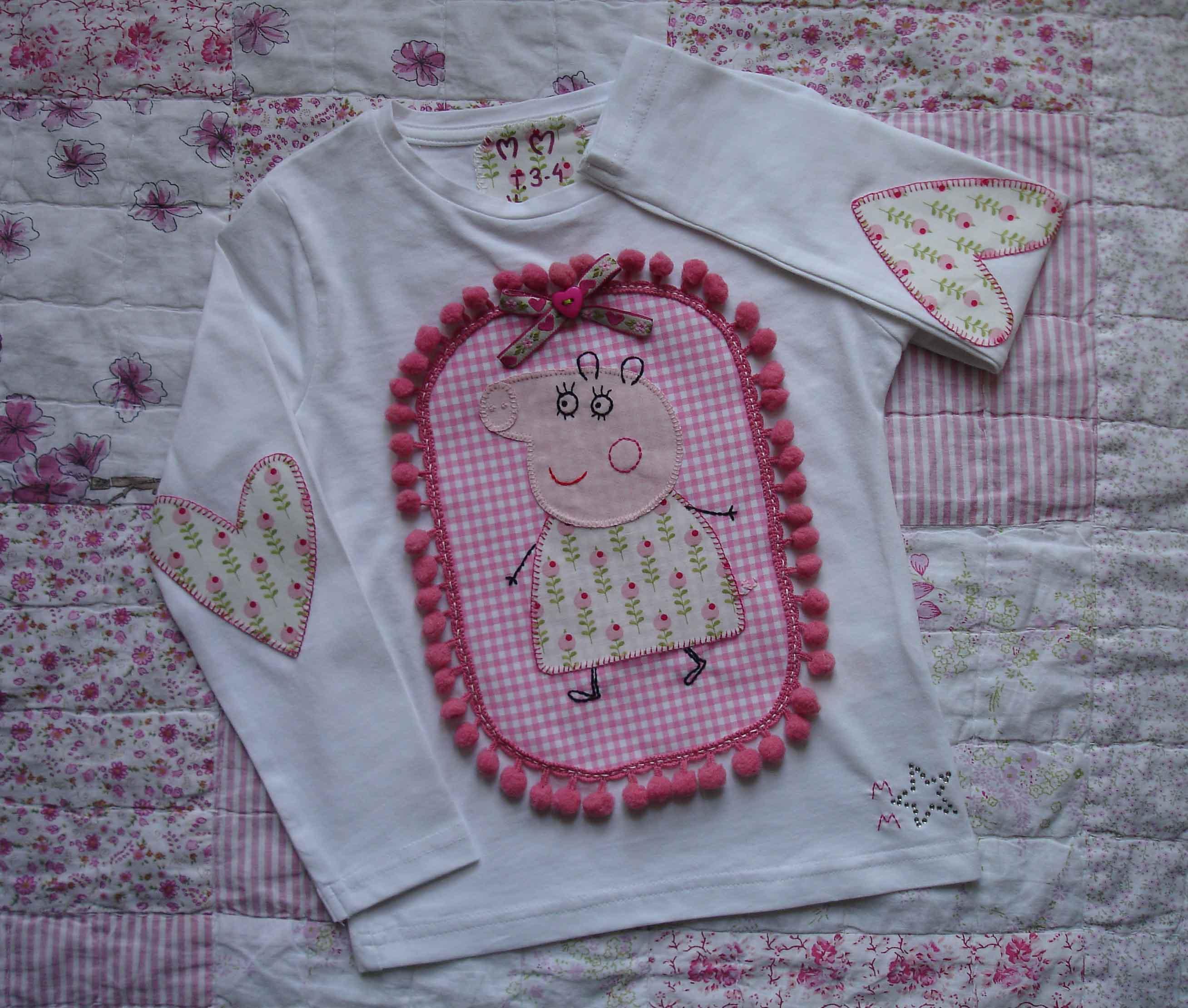 Copia Camiseta pepita pig