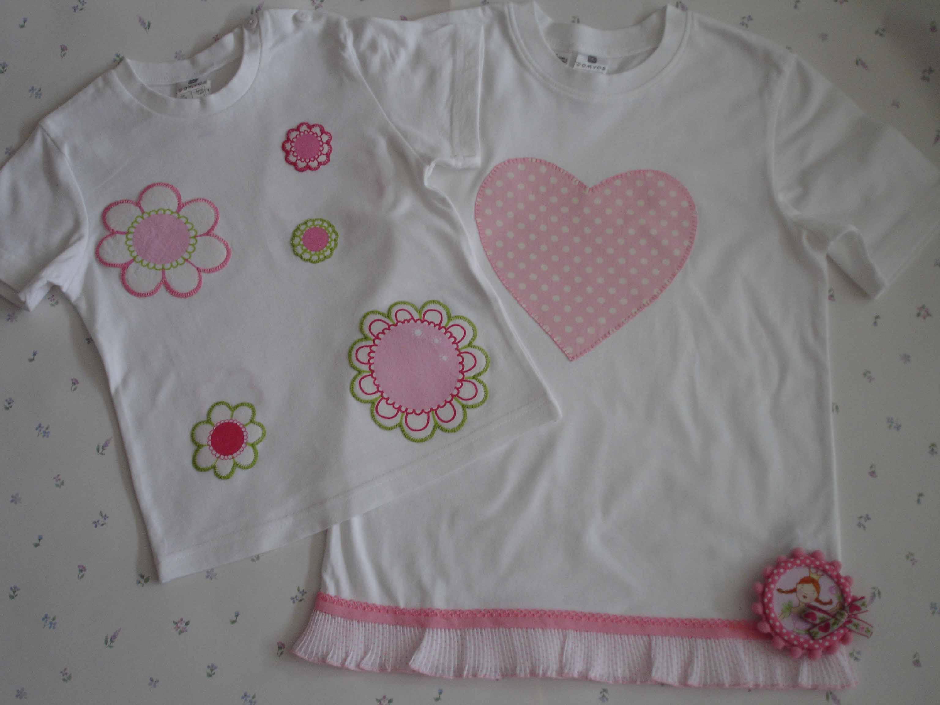 Camisetas flores y corazón copia