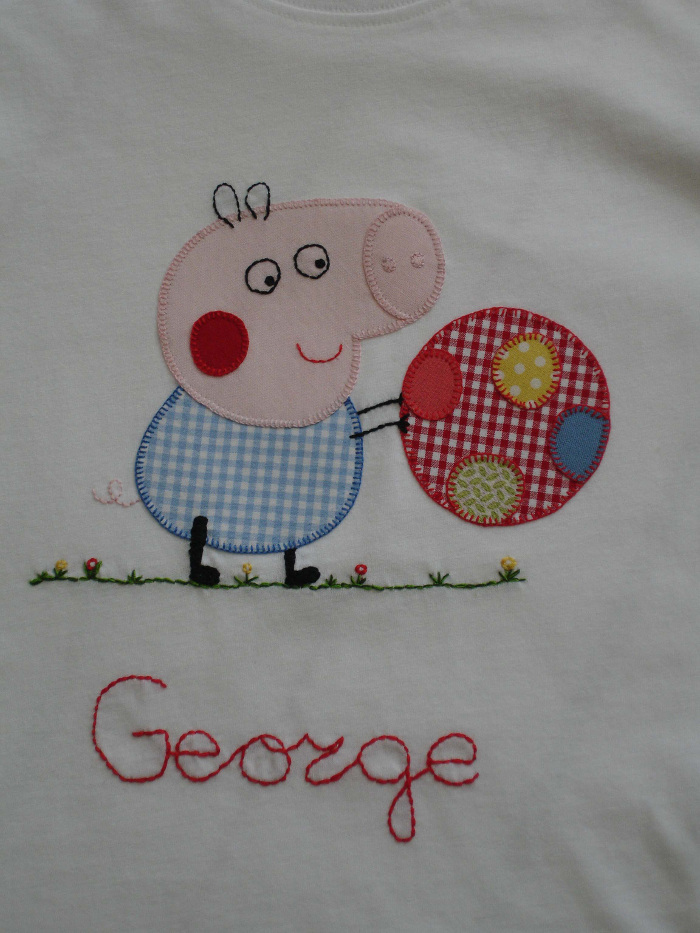 Detalle camiseta George