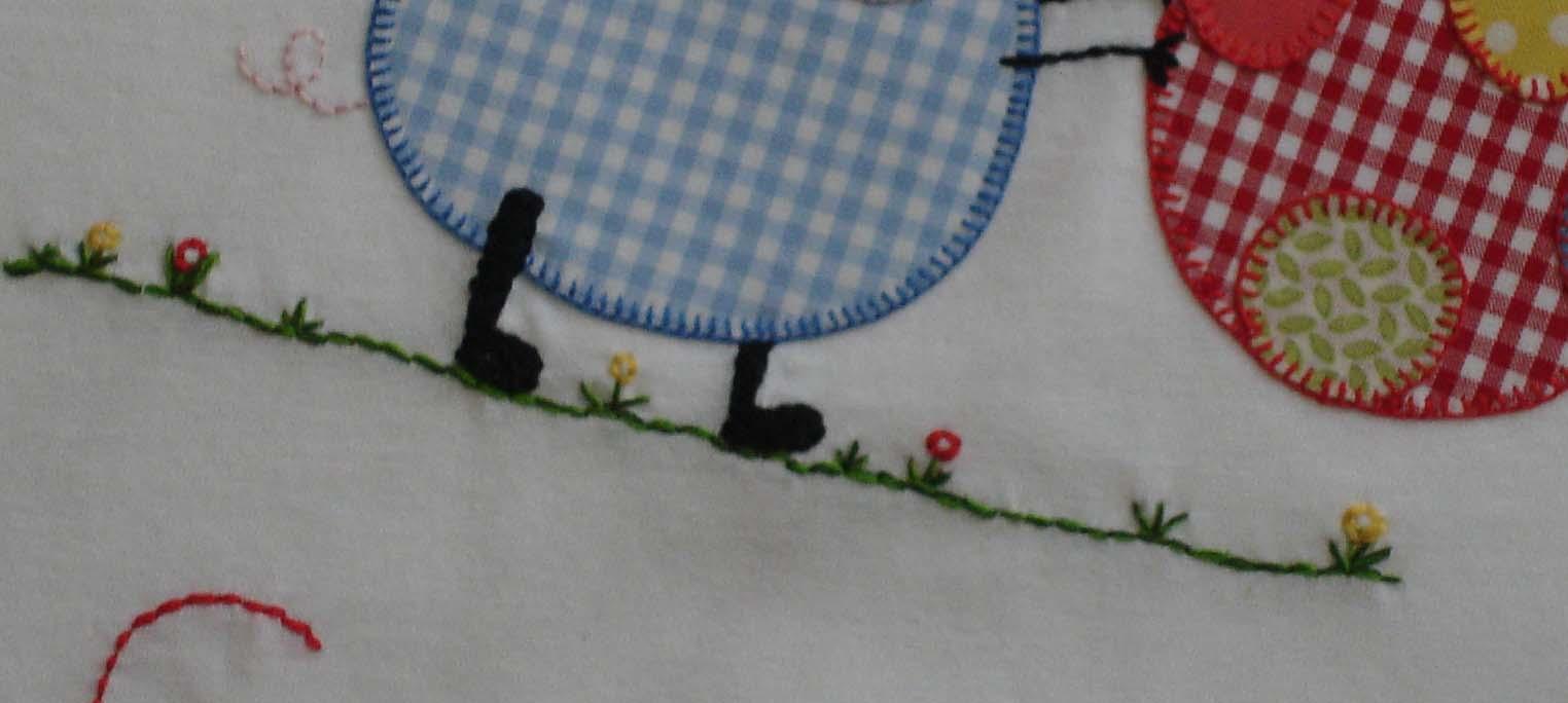 detalle hierba Camiseta de George Pig