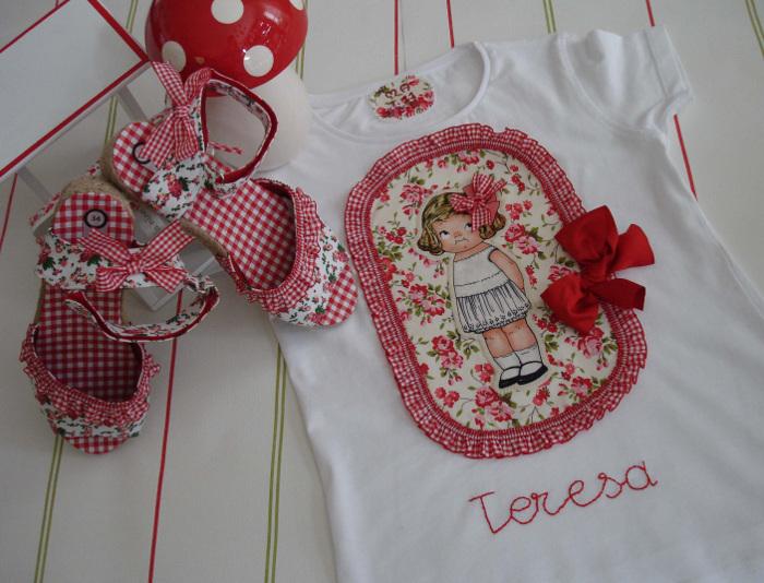 Camiseta Teresa