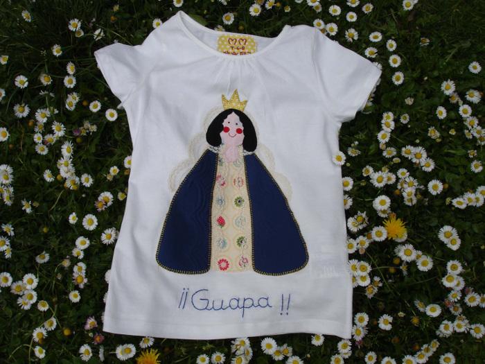Camiseta Virgen de los Angeles 1