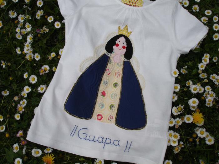 Camiseta Virgen de los Angeles