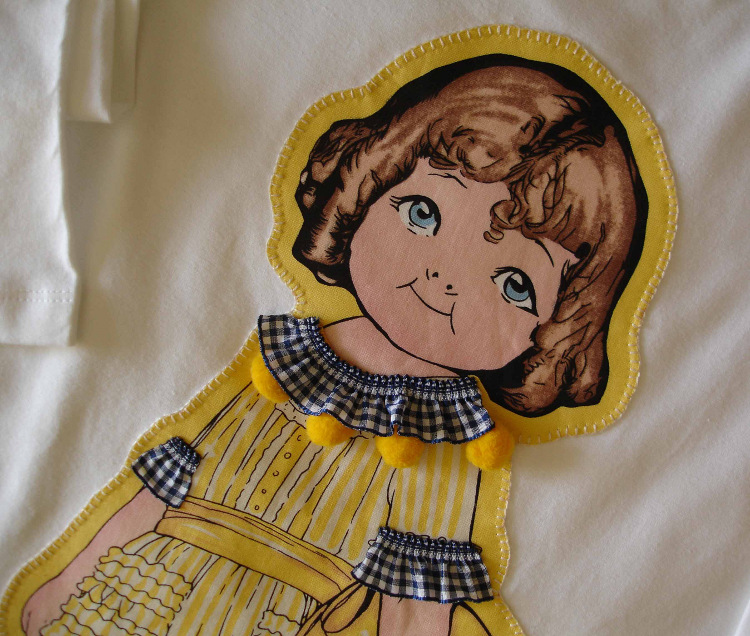 Camiseta Yaiza. Detalle