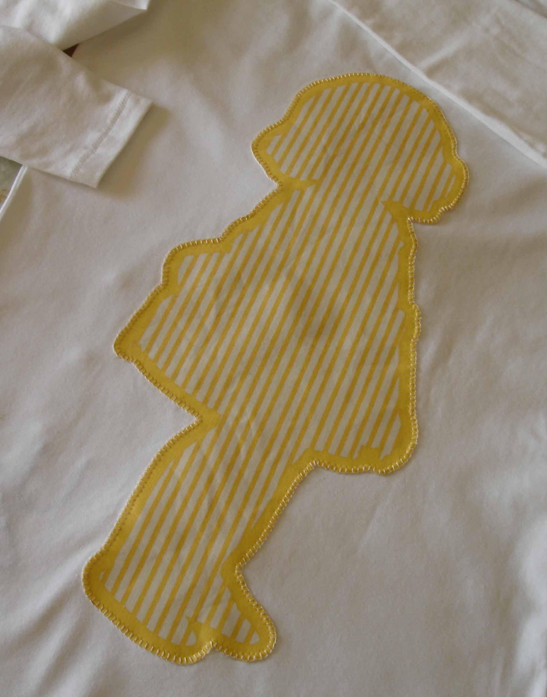 Camiseta Yaiza. Trasera
