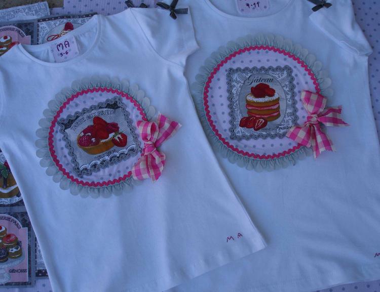 Camisetas pasteles 1