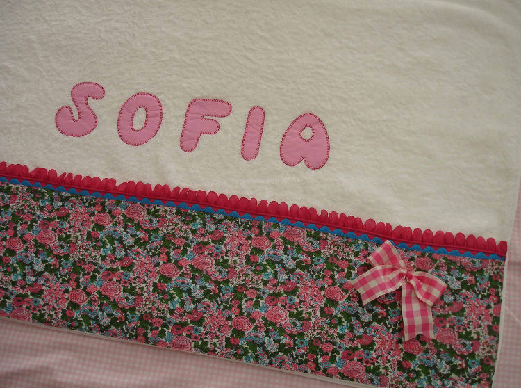 Conjunto Sofía. Toalla