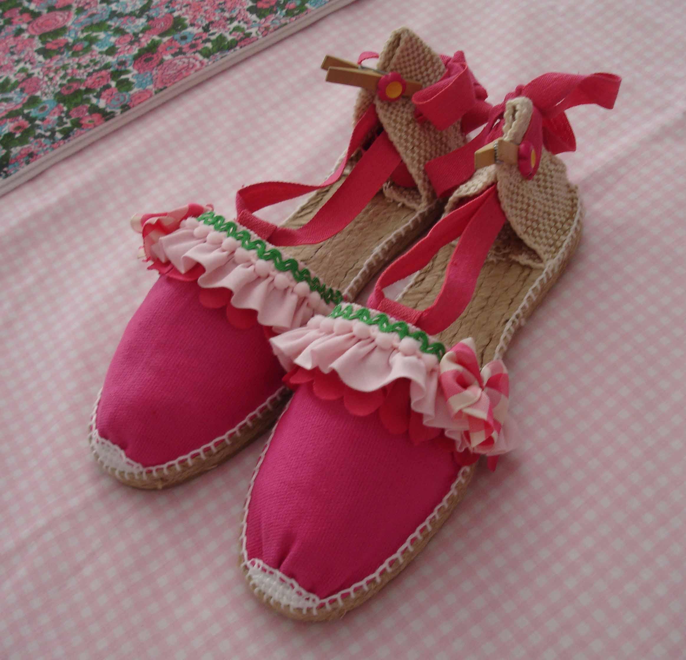 Conjunto Sofía. Zapatillas 1
