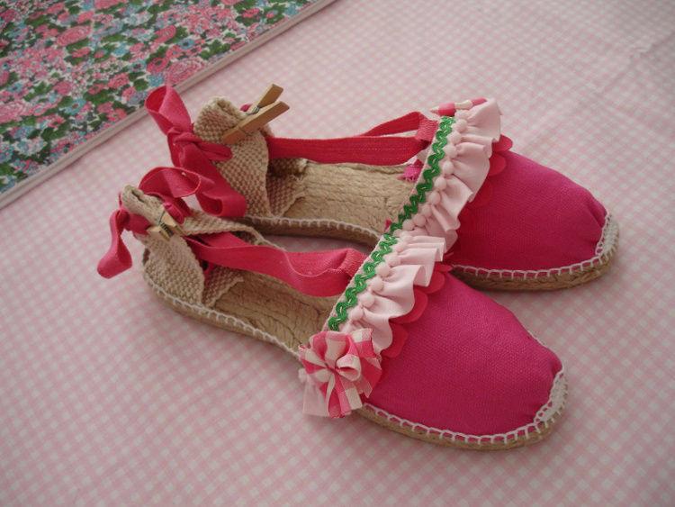 Conjunto Sofía. Zapatillas