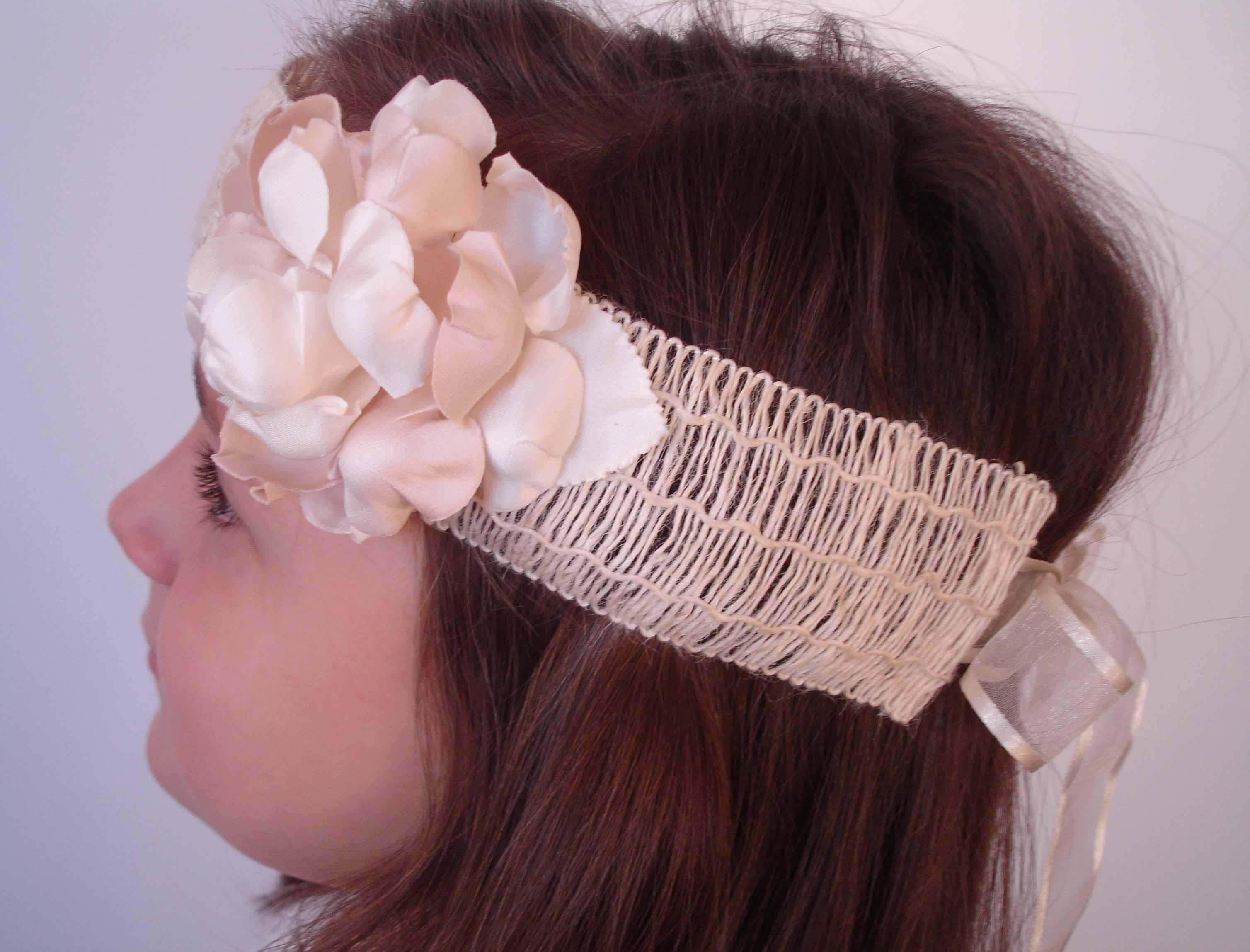 turbante rafia y flor valeria