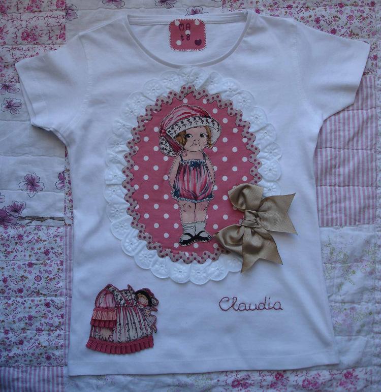 Camiseta Claudia 1