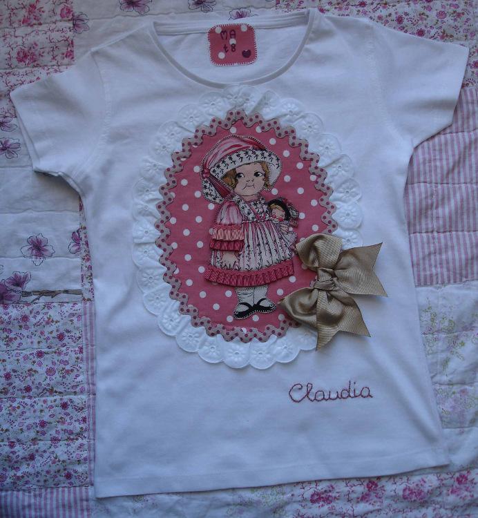 Camiseta Claudia