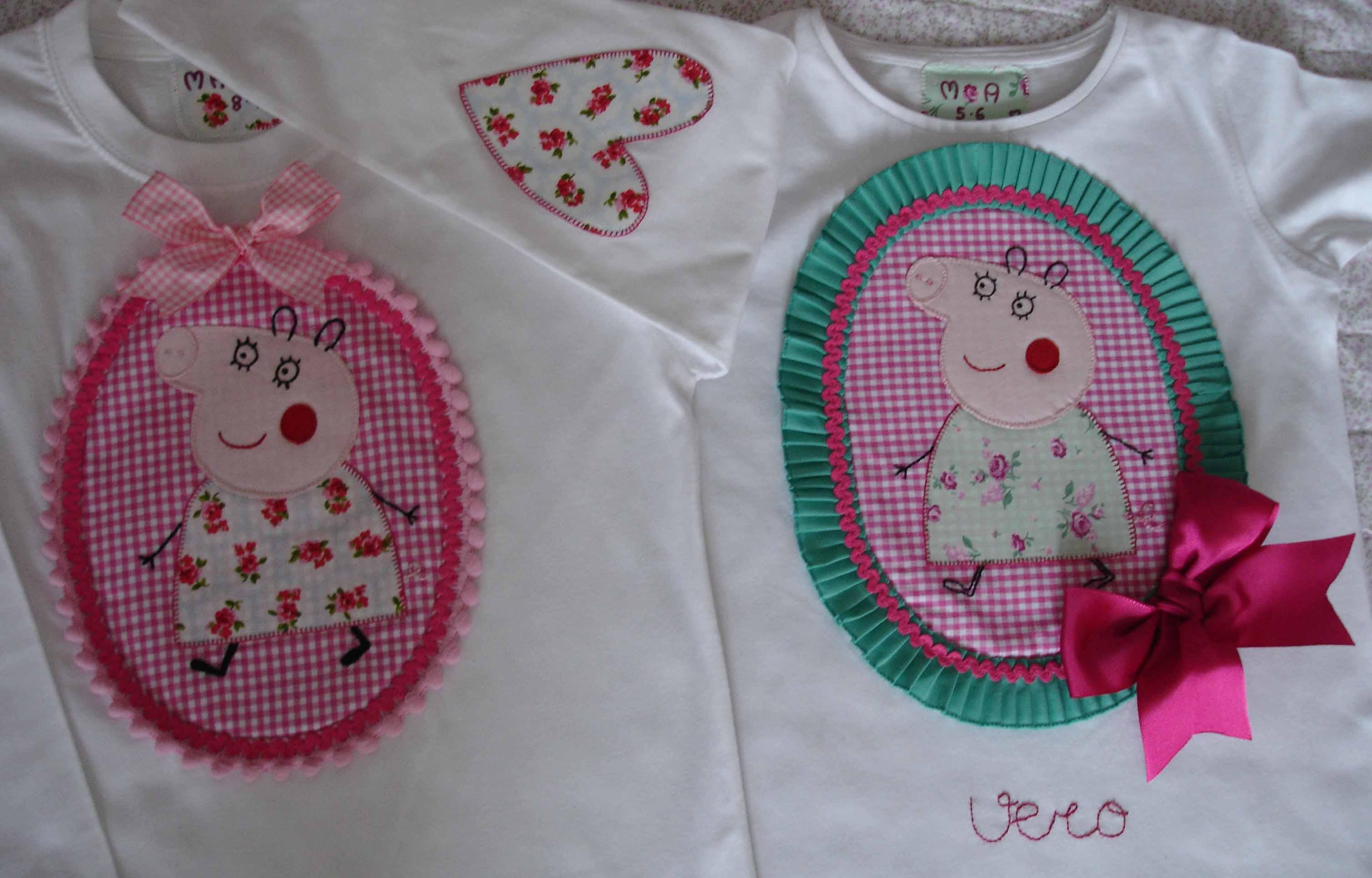 Camisetas Peppa Pig Sandra y Ana 2