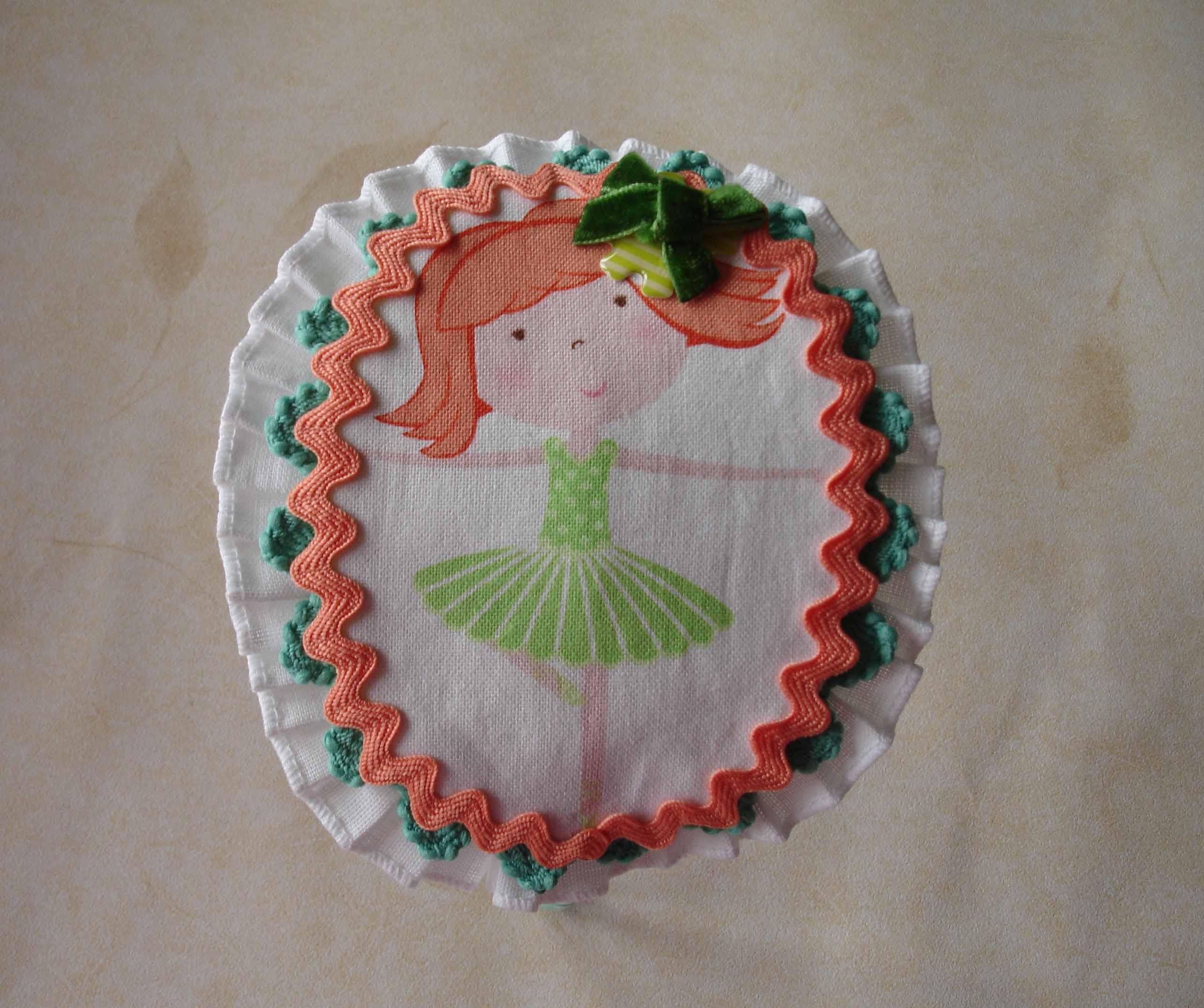 Diadema Bailarina verde