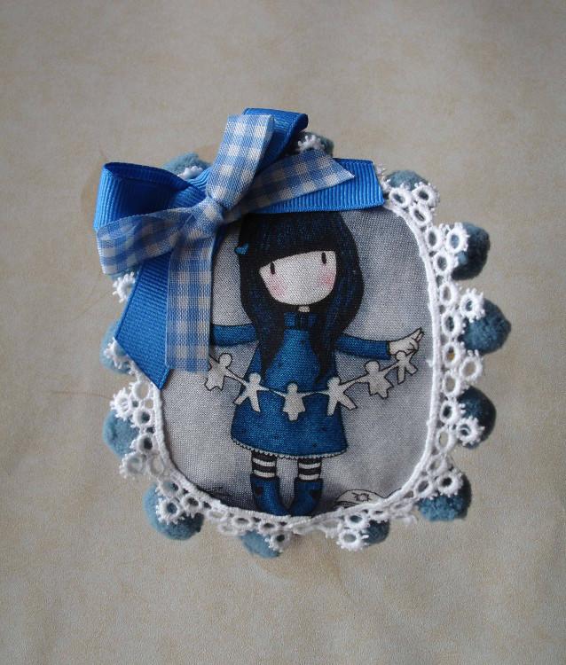 Diadema Gorjuss azul 1