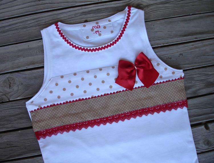 Un tr o de camisetas precioso las mu equitas de ainhoa - Decorar camisetas basicas ...