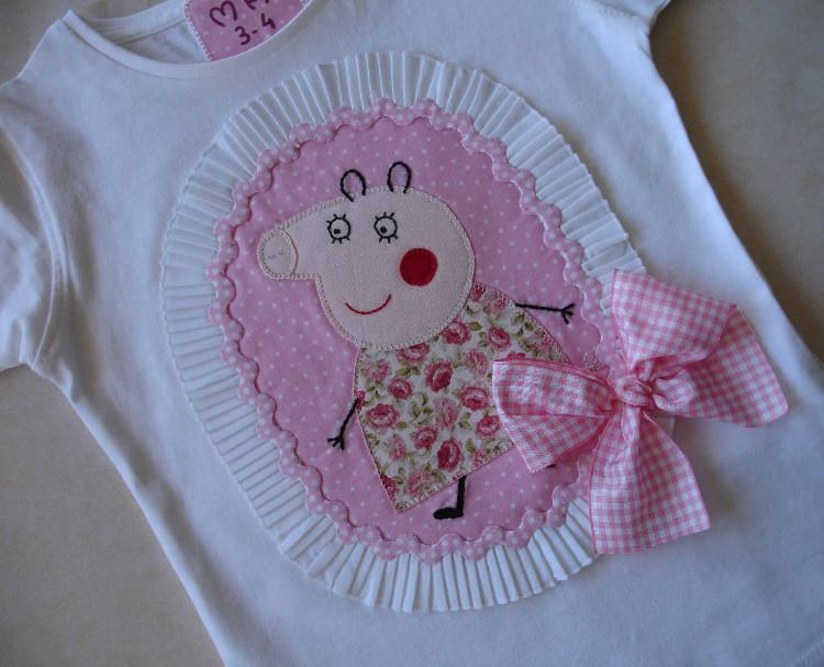Camisetas Beatríz Peppa Pig 1