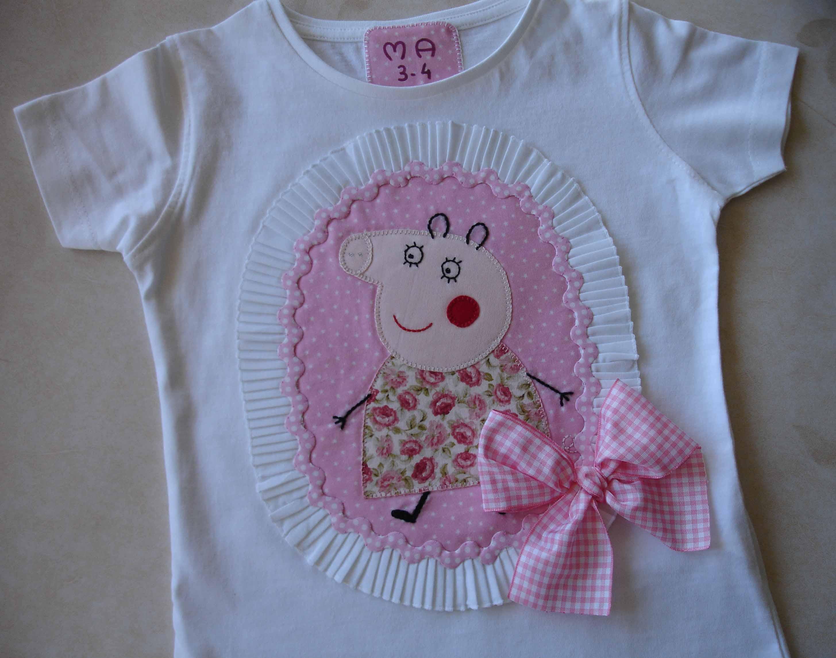 Camisetas Beatriz Peppa Pig