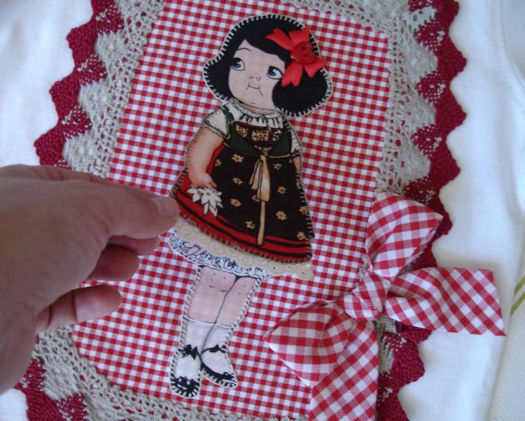 Camisetas Beatriz muñequita y capazo