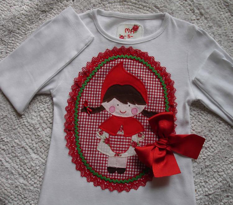 Camiseta Caperucita Roja Mari Paz