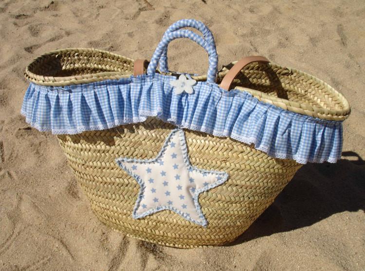 Capazo estrella azul Alba 1