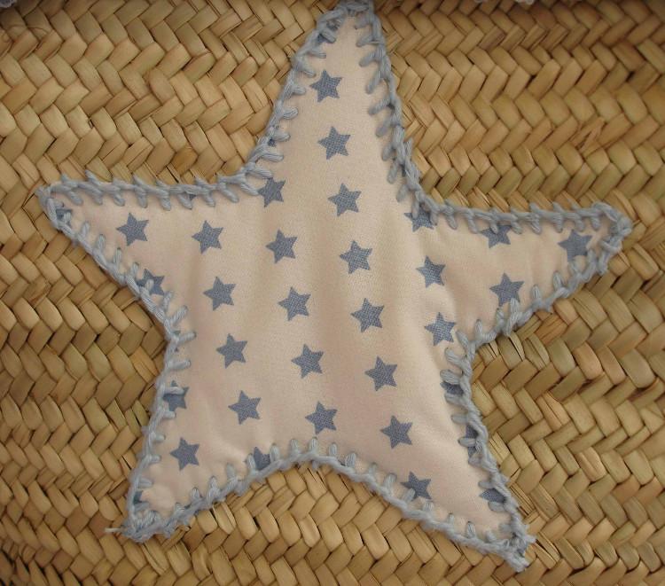Capazo estrella azul Alba 3