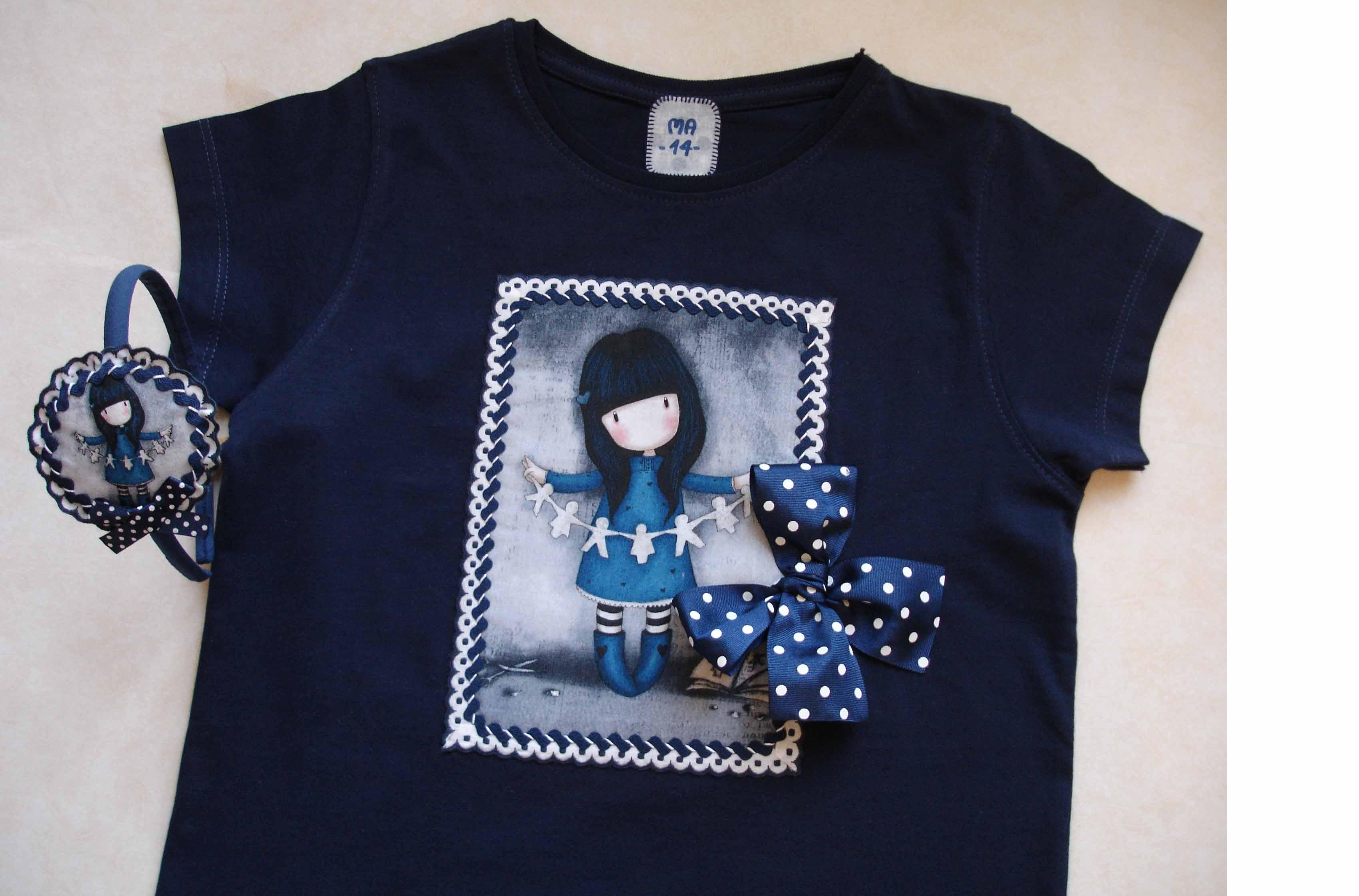 Camiseta y diadema Gema