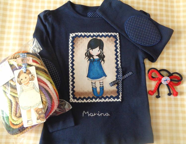 Camiseta y Lazos Marina 1